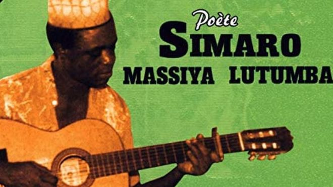 Album cover or a Simaro Lutumba album produced by the record label Ngoyarto
