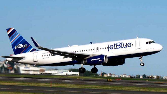 JetBlue considers new US-UK flight routes - BBC News