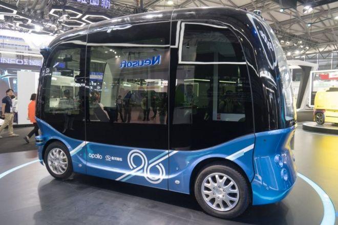 Sürücüsüz otobüslerin seri üretimine başlandı