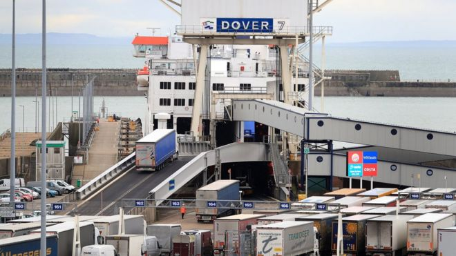Ferry companies warn of gridlock in no-deal Brexit - BBC News
