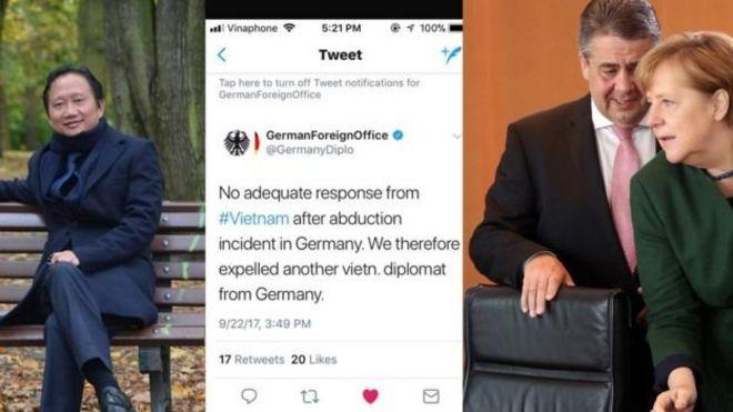 Chính phủ Đức cập nhật diễn biến ngoại giao với Hà Nội trên mạng xã hội sau vụ ông Trịnh Xuân Thanh: Bìa phải là Thủ tướng Angela Merkel và Bộ trưởng Ngoại giao Đức Sigmar Gabriel