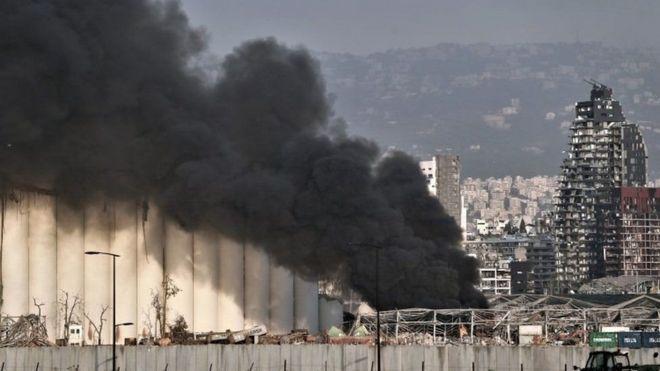 صورة لانفجار بيروت