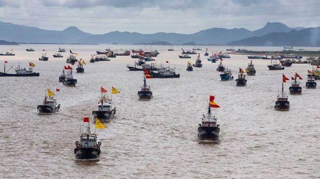 Bộ Quốc phòng Hoa Kỳ nói họ sẽ coi 'dân quân biển' Trung Quốc là lực lượng tàu như tàu quân sự