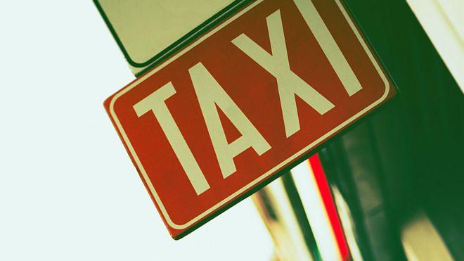 Señal de taxi