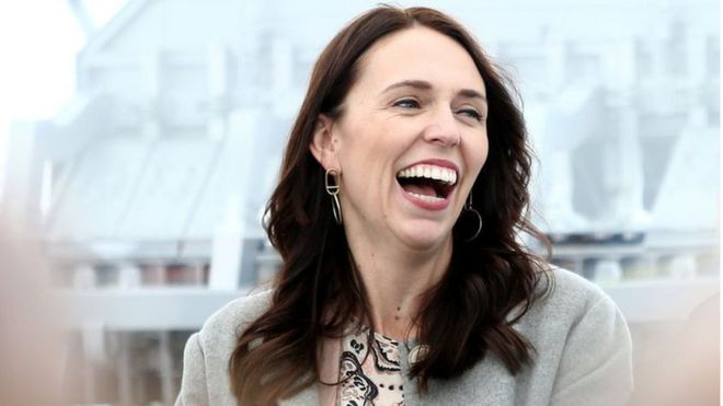 Prime Minister Jacinda Ardern visits Tiwai Point Aluminium Smelter on December 06, 2018