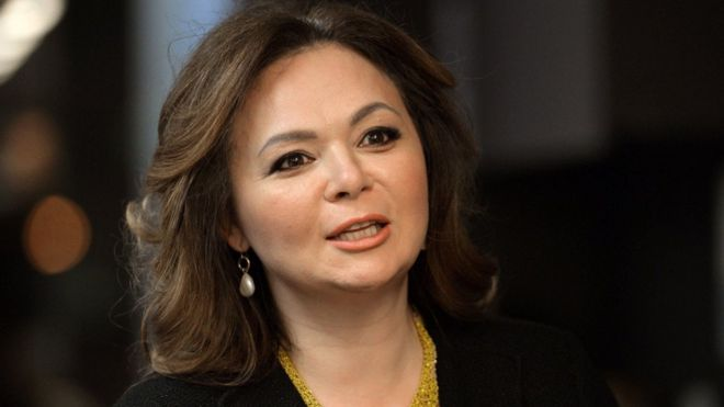 File image of Russian lawyer Natalia Veselnitskaya speaking during an interview in Moscow in 2016