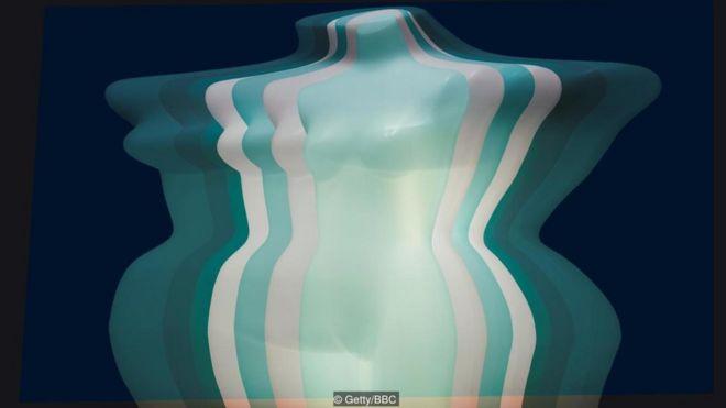 Ilustração corpo de mulher