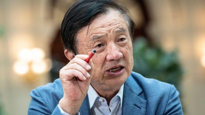 Ren Zhengfei on Apple.