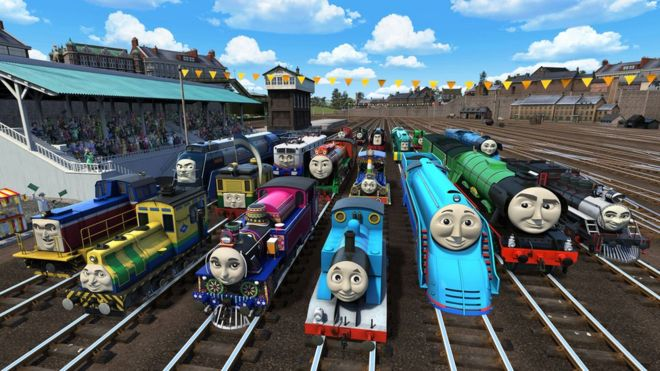 thomas the tank engine goes global for new film bbc news