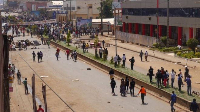 why has cameroon blocked the internet bbc news