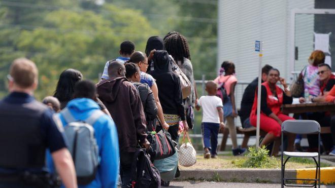 Image result for Nigerians seeking asylum