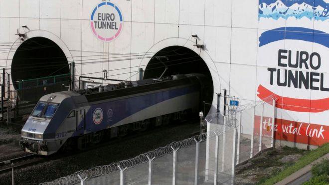 Eurotunnel Freight Ferry Routes