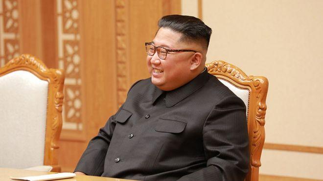 Kim Jong-un em Pyongyang, 2018