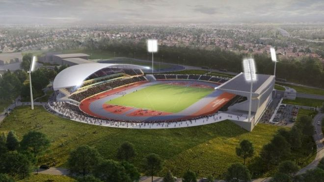 2020 Commonwealth Games.Birmingham 2022 Commonwealth Games Stadium Plans Revealed