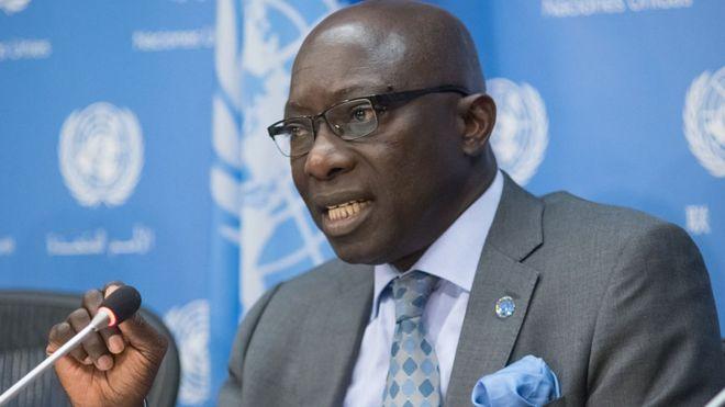 Adama Dieng, conseiller spécial de l'ONU sur la prévention du génocide