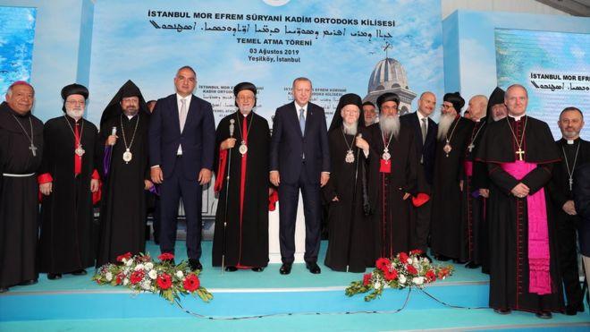 Cumhuriyet tarihinin ilk Süryani kilisesinin inşaatı başladı