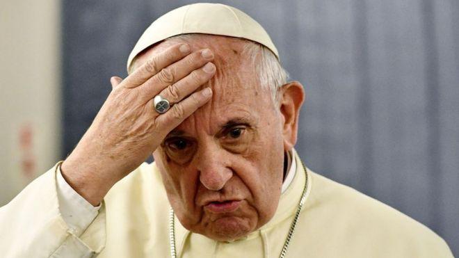 Papa Francisco de visita en Chile.
