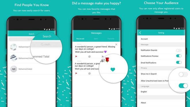 O aplicativo Sarahah permite enviar mensagens anônimas