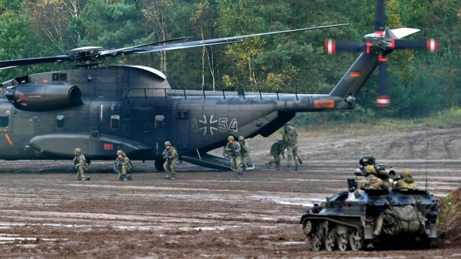 German army problems 'dramatically bad', report says - BBC News