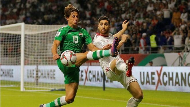 كأس آسيا 2019: لقاء حاسم بين العراق وقطر في دور الثمانية