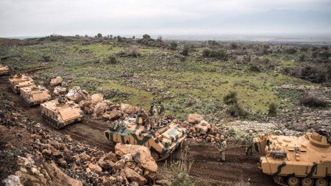 Zeytin Dalı Harekatı: TSK'ya ait bir helikopter düştü, iki asker yaşamını yitirdi