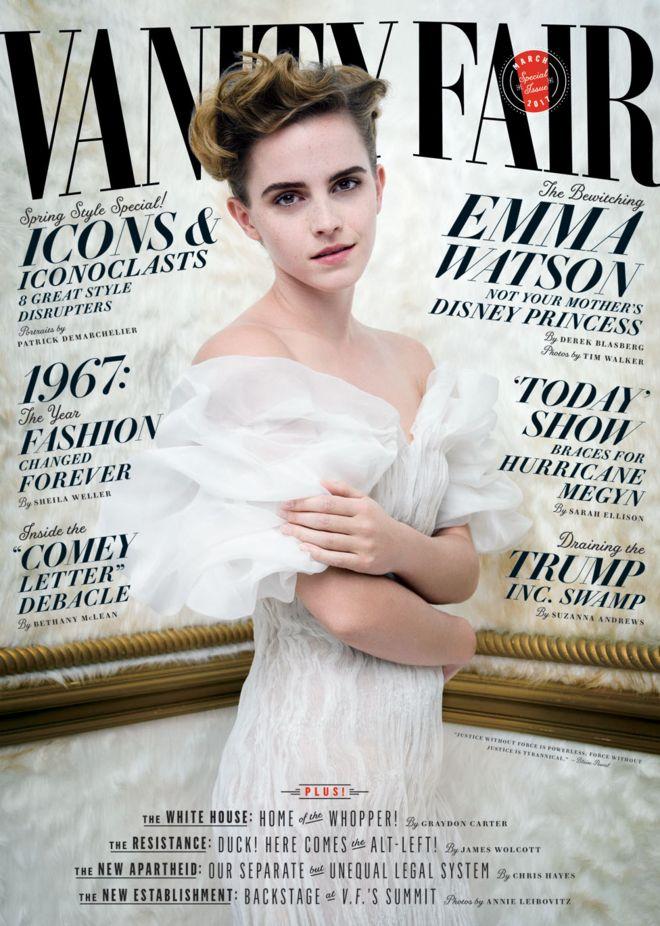 Обложка Vanity Fair с Эммой Уотсон