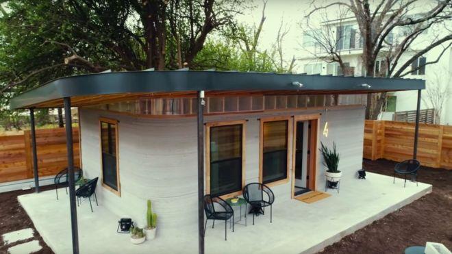 3d printed homes turn sludge into shelter bbc news rh bbc com printer homes to wrong corner printing houses cost