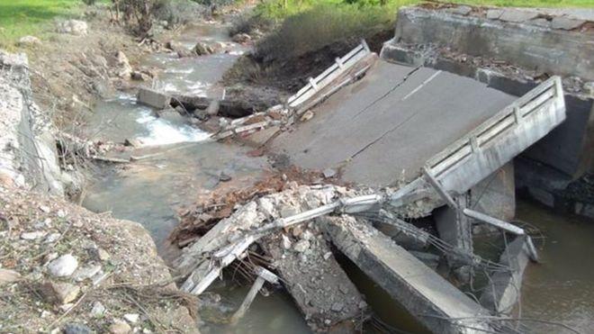 သိန်းနီ-ကွမ်းလုံ -ချင်းရွှေဟော် လမ်းပိုင်းက ၃၁ မိုင် နားတီး တံတားလည်း ဖောက်ခွဲဖျက်ဆီးခံခဲ့ရ