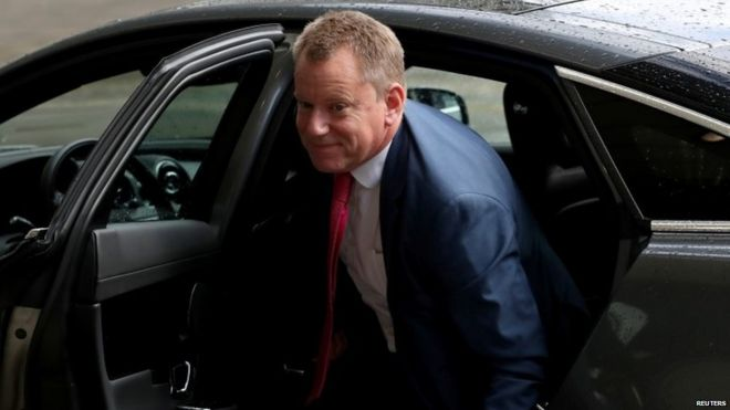 The UK's Brexit envoy David Frost