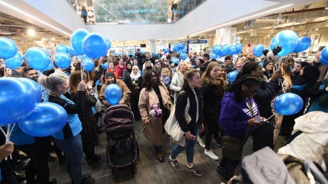 c45110bdbb155 Biggest Primark in the world opens in Birmingham - BBC News