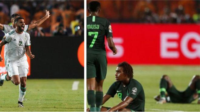 Riyad Mahrez ati Super Eagles