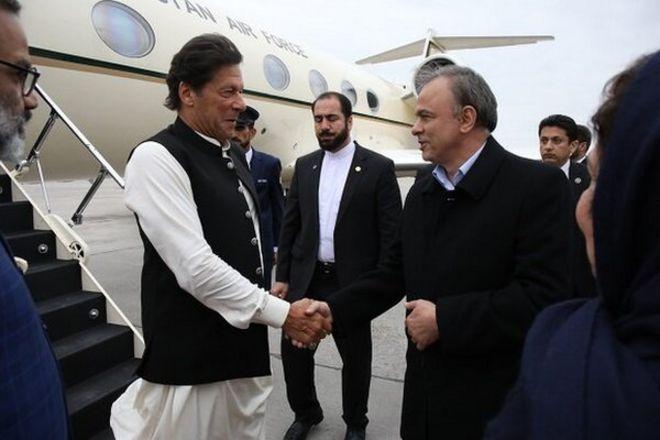 نخست وزیر پاکستان وارد ایران شد