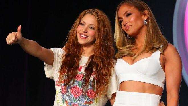 Shakira y J Lo