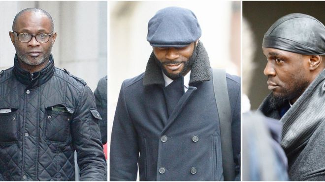 Three Sodje brothers jailed for taking charity money - BBC News