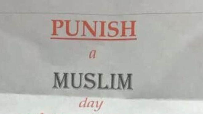 İngiltere'de 'Bir Müslüman'ı Cezalandır Günü' mektupları kaygı yarattı