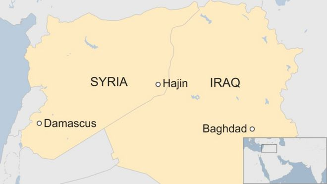 Iraq \'kills 45 IS leaders\' in eastern Syria strike - BBC News