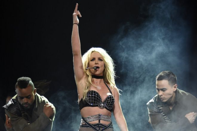 Britney Spears Opened Her Piece Of Me Tour At The Theater At Mgm National