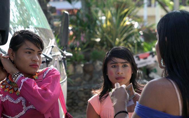 Mujeres indígenas transgénero