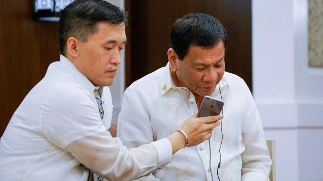 Trump aliwasiliana na Duterte kwa njia ya simu
