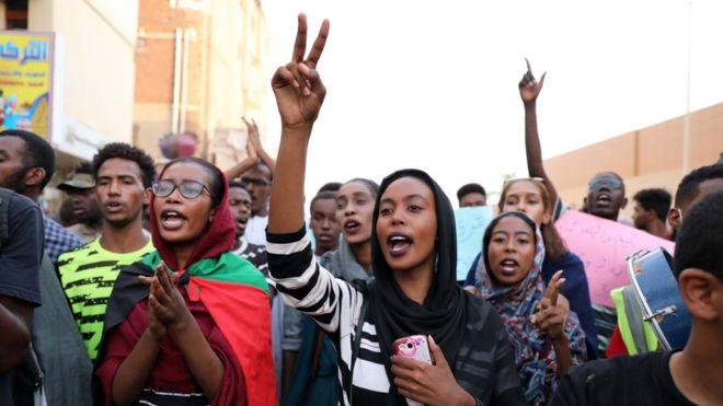 Mamia ya wanafunzi nchini Sudan wameandamana kukemea vitendo vya mauaji dhidi ya watu watano al-Obeid