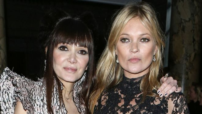 Annabelle Neilson And Kate Moss