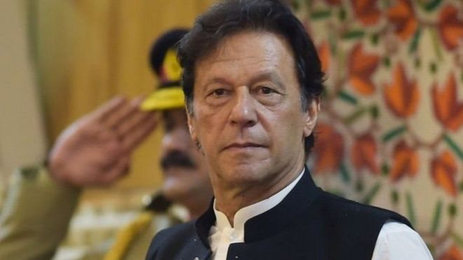 Prime Minister of Pakistan Imran Khan expressed the possibility of war with India