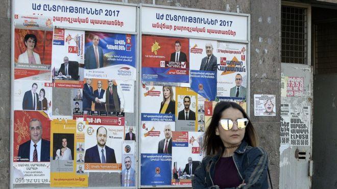 Распределение мандатов по итогам выборов в Армении состоится 9 апреля