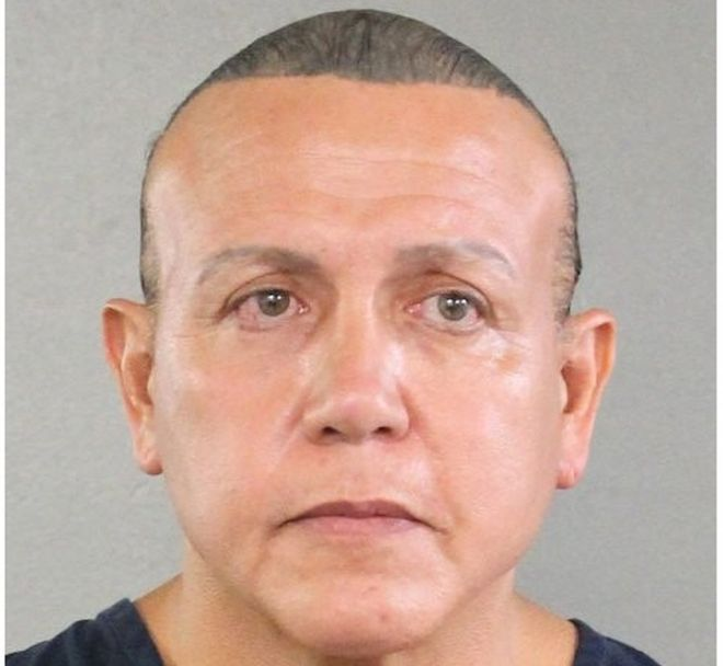 Cesar Sayoc, police photo from 2015