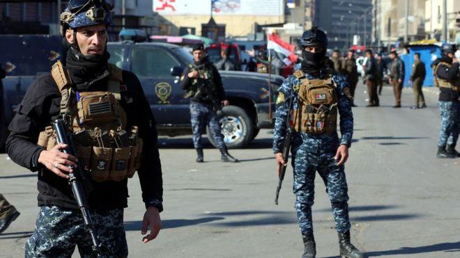 أفراد قوات الأمن انتشروا في المكان.