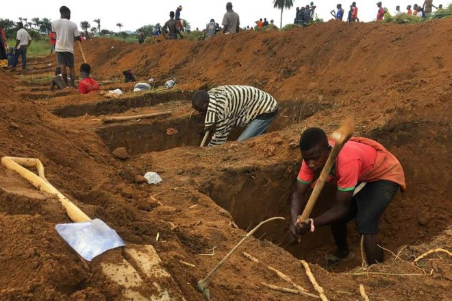 Sierra Leone: More than a hundred children killed in the floods
