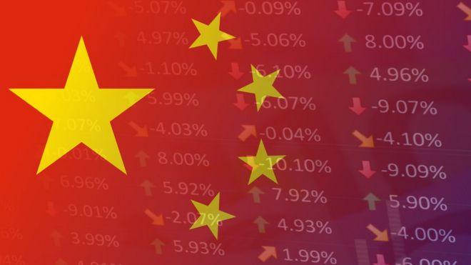 Imagem que remete à bandeira da China