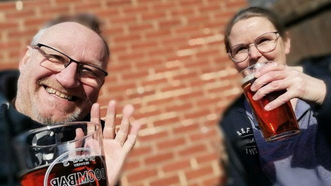 Ray Callcut and his partner Susan