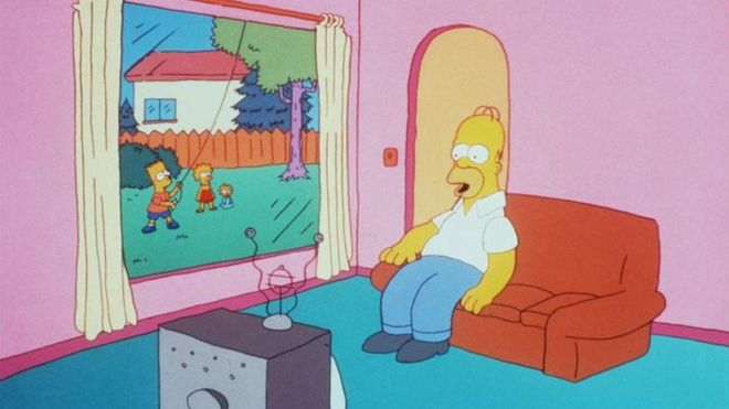 Channel 4 Rapped For Simpsons Episode Bbc News