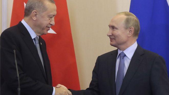 Putin və Erdoğan